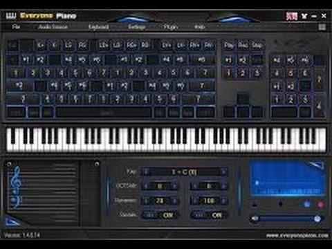 piano pc clavier