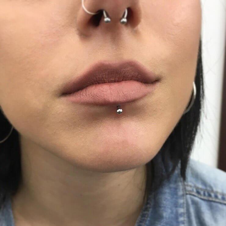 piercing labret