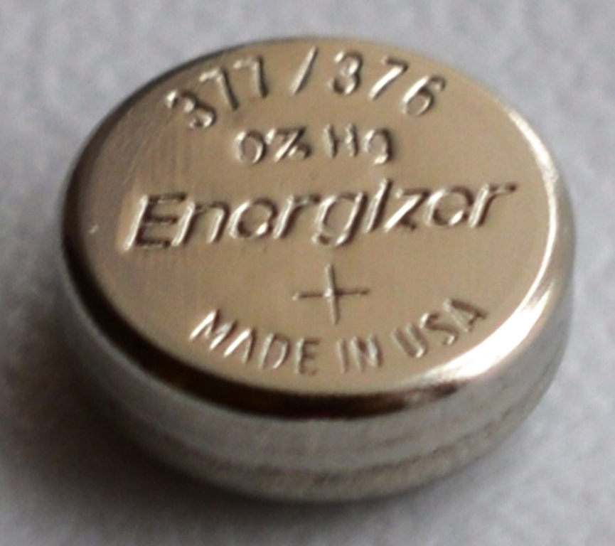 pile bouton 377/376