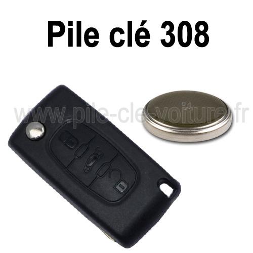 pile telecommande 308