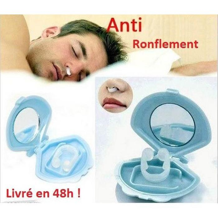 pince anti ronflement