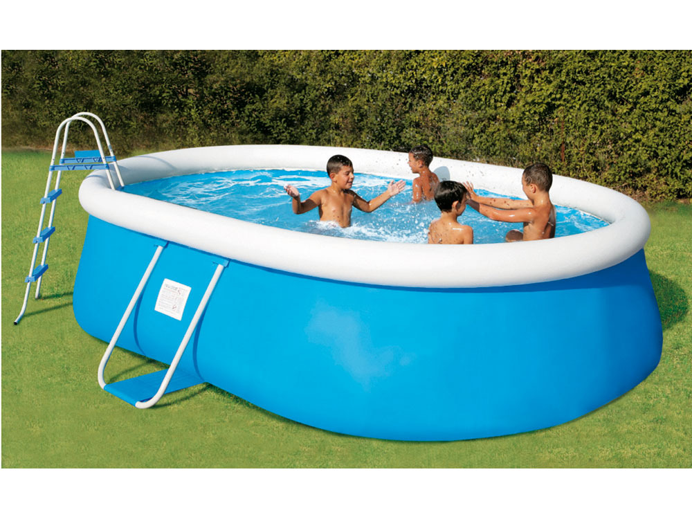 piscine autostable ovale