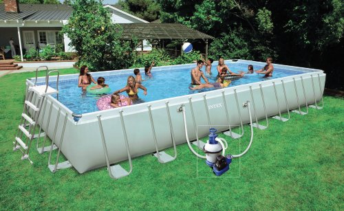 piscine hors sol rectangulaire intex