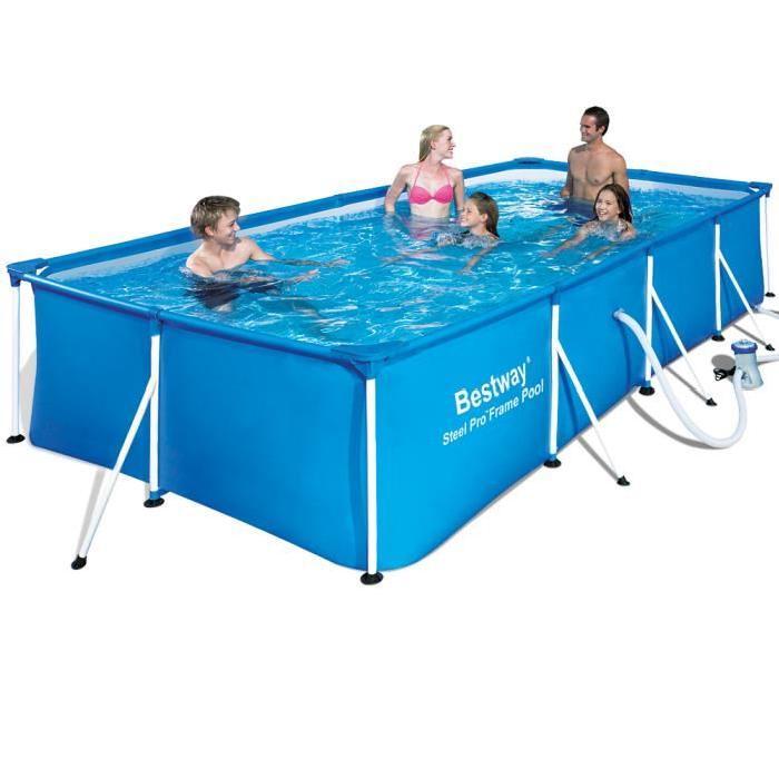 piscine rectangulaire avec pompe