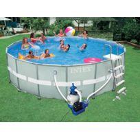 piscine ronde hors sol intex