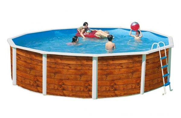 piscine ronde hors sol