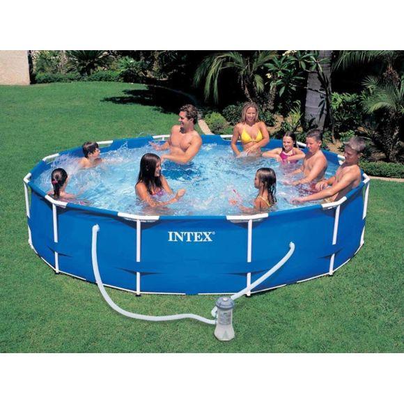 piscine tubulaire intex pas cher