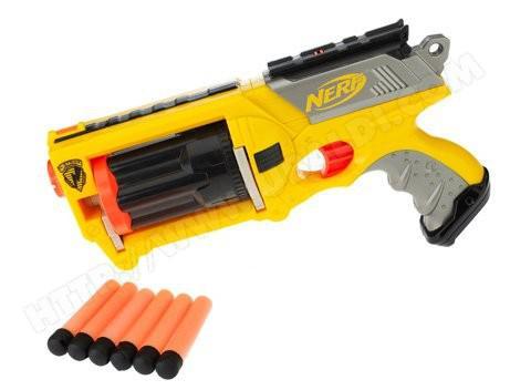 pistolet nerf flechettes