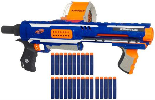 pistolet nerf sans pile