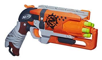 pistolet nerf zombie