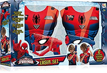 pistolet spiderman laser
