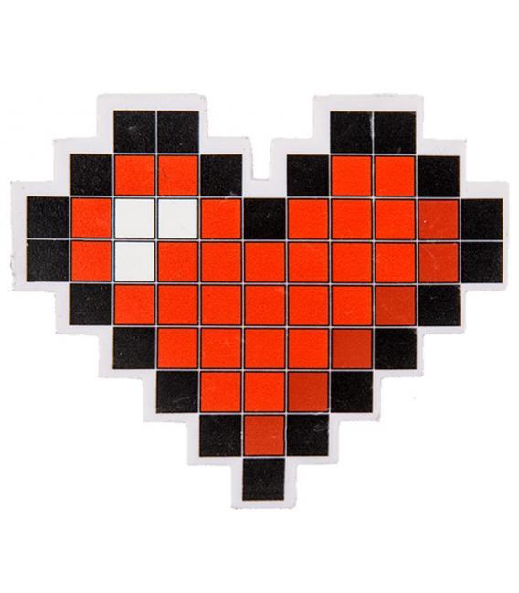 pixel coeur