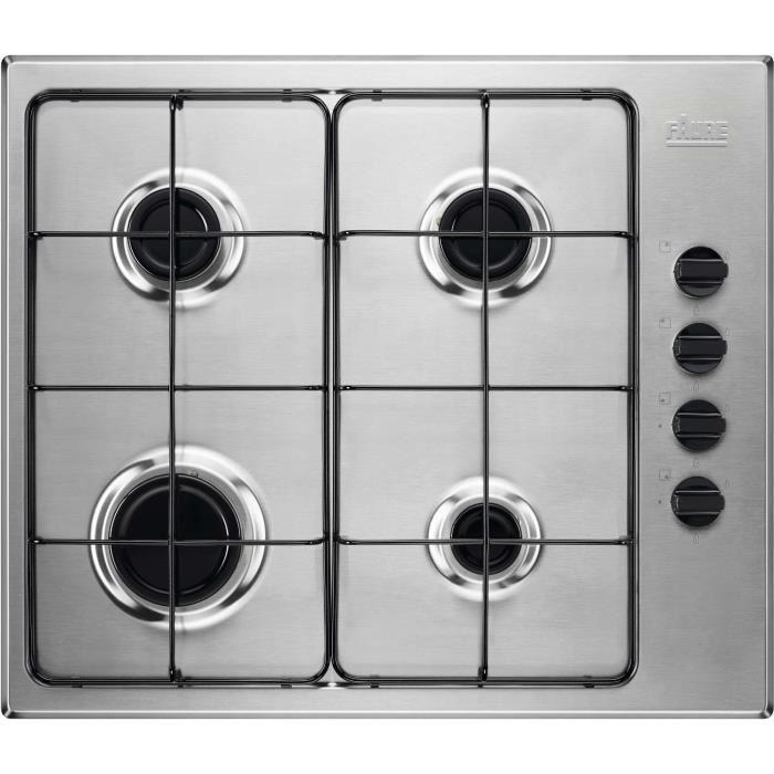 plaque de cuisson gaz inox pas cher