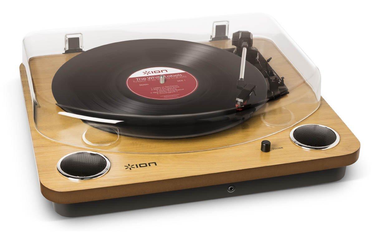 platine vinyle avec haut parleur intégré