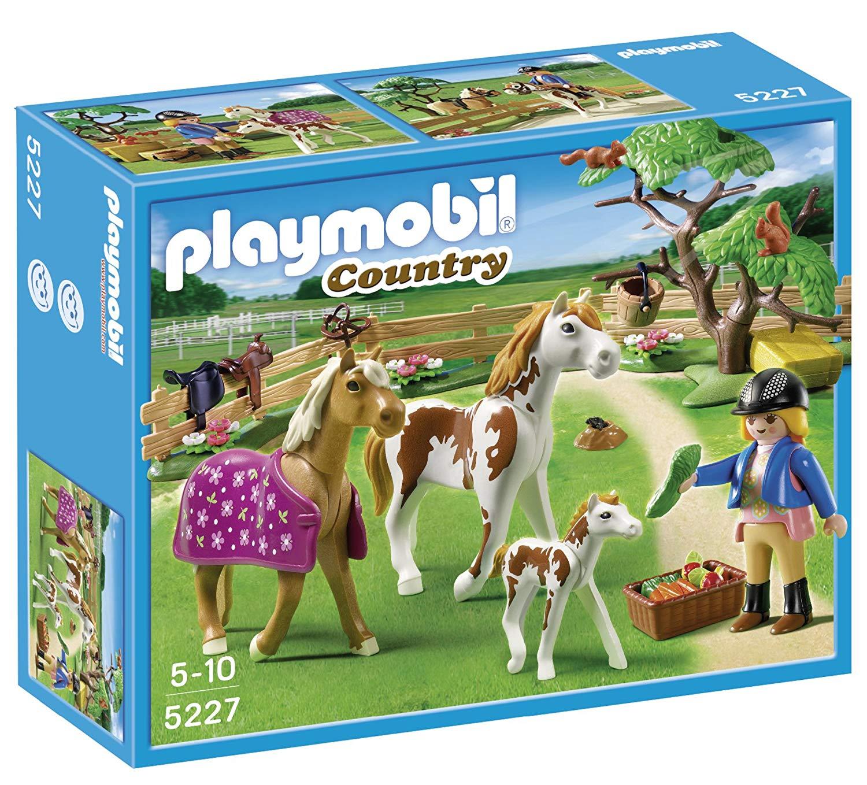 playmobil chevaux