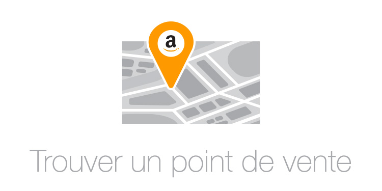 point de vente recharge amazon