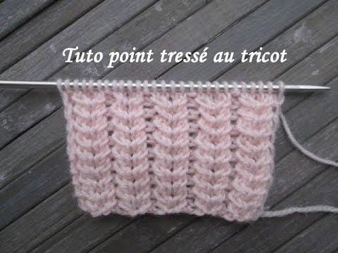 point tressé tricot