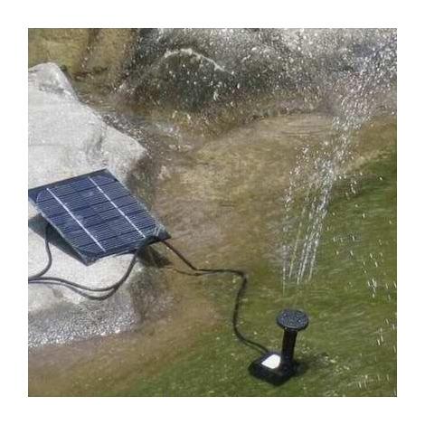 pompe pour fontaine solaire
