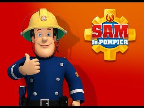 pompier dessin animé en francais