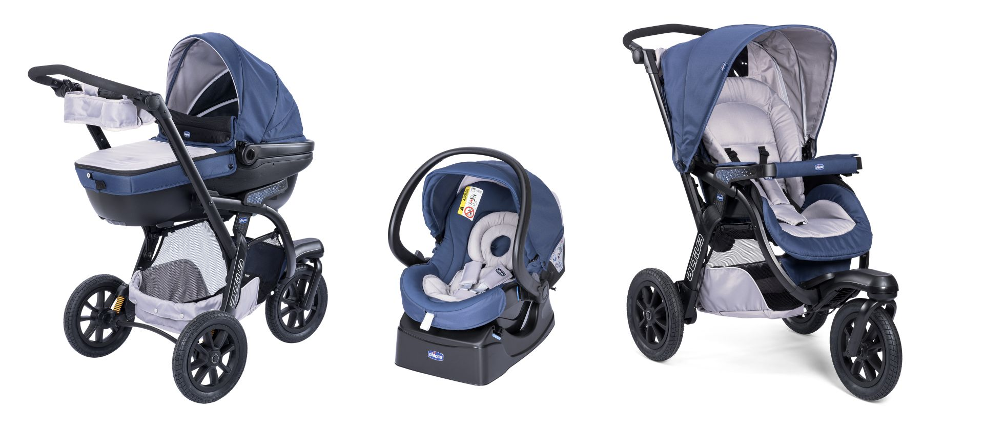 poussette trio active 3 chicco