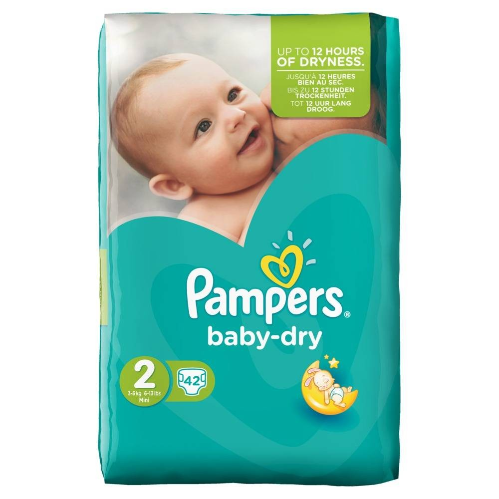 prix couche pampers taille 2