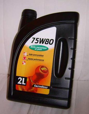 prix huile boite de vitesse