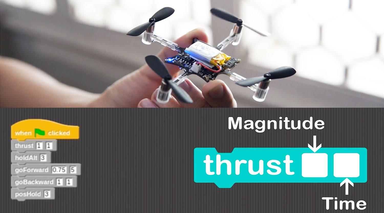 programmer un drone