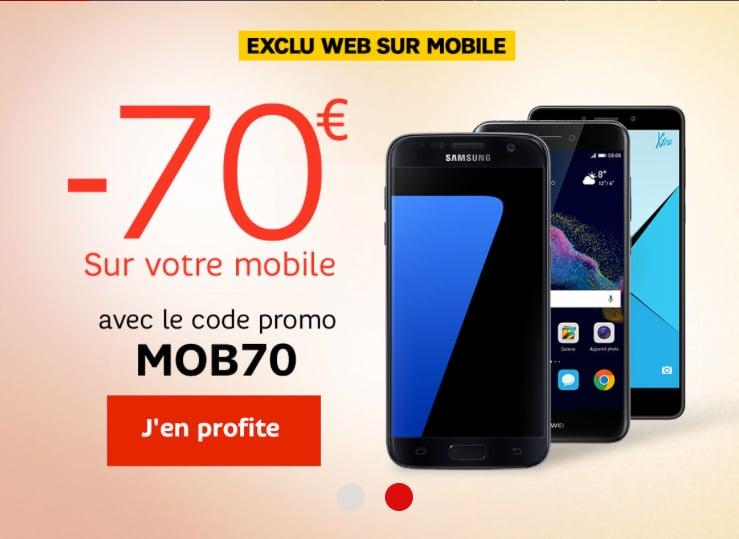 promo sur telephone portable