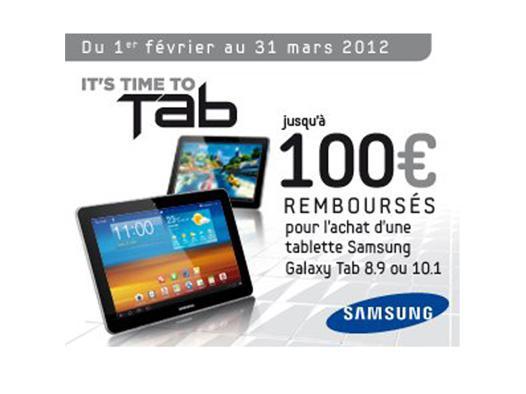 promo tablette samsung