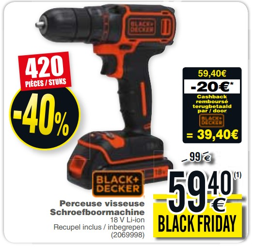 promotion black et decker