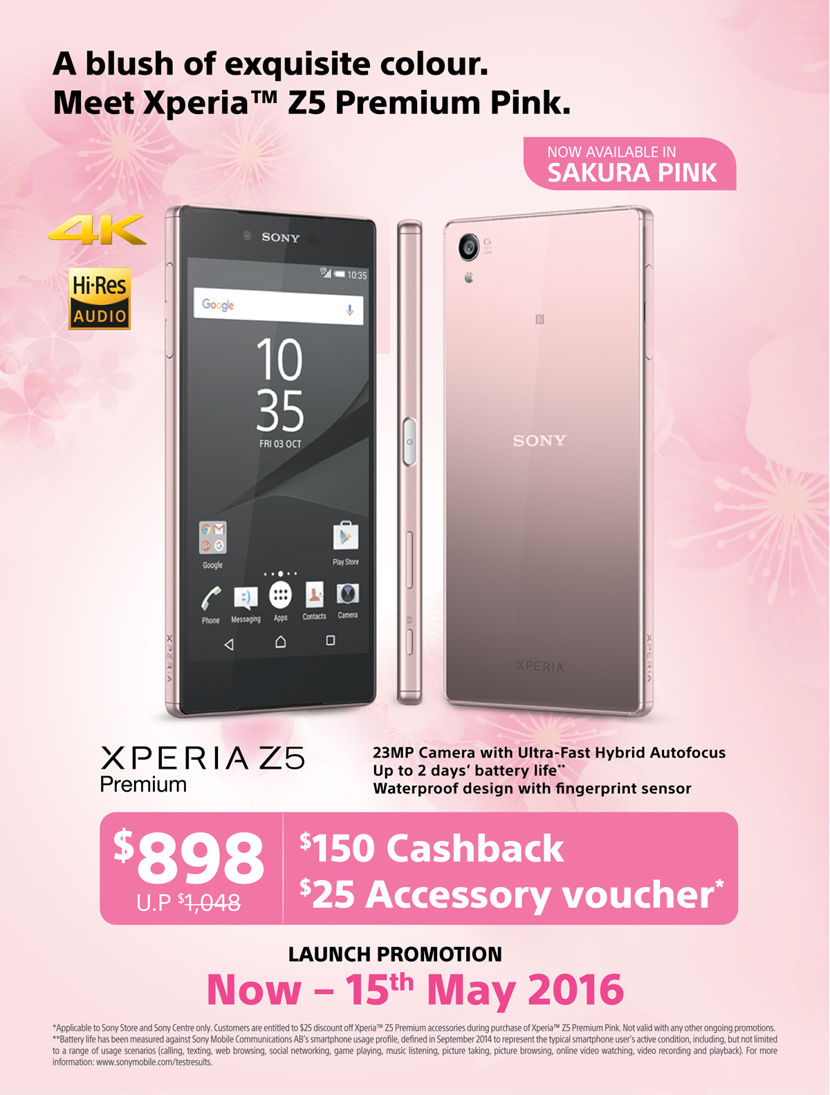 promotion sony xperia