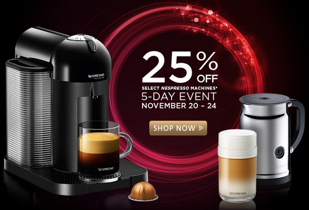 promotions nespresso