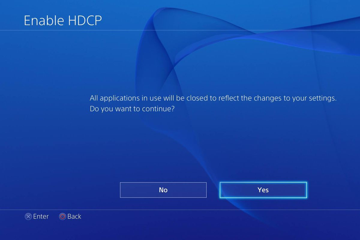 ps4 hdcp version