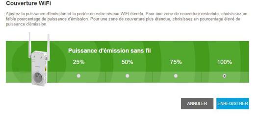 puissance d émission wifi