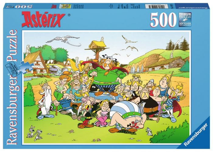 puzzle asterix 500 pieces