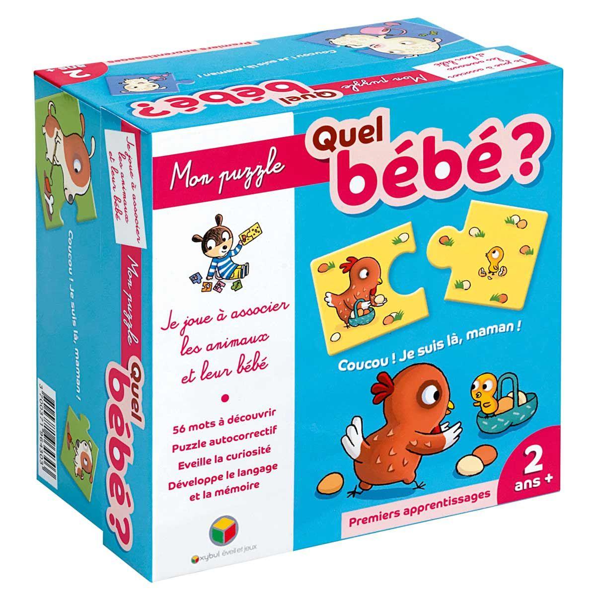 puzzle bébé 2 ans