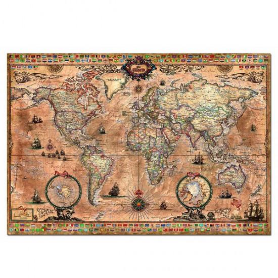 puzzle mappemonde