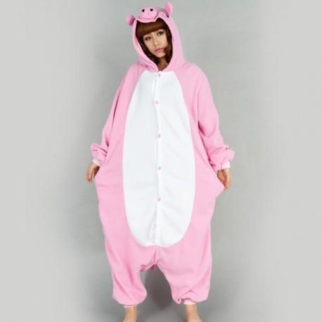 pyjama cochon adulte