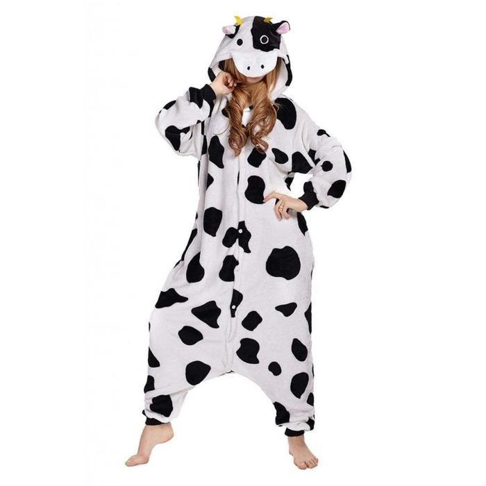 pyjama vache adulte