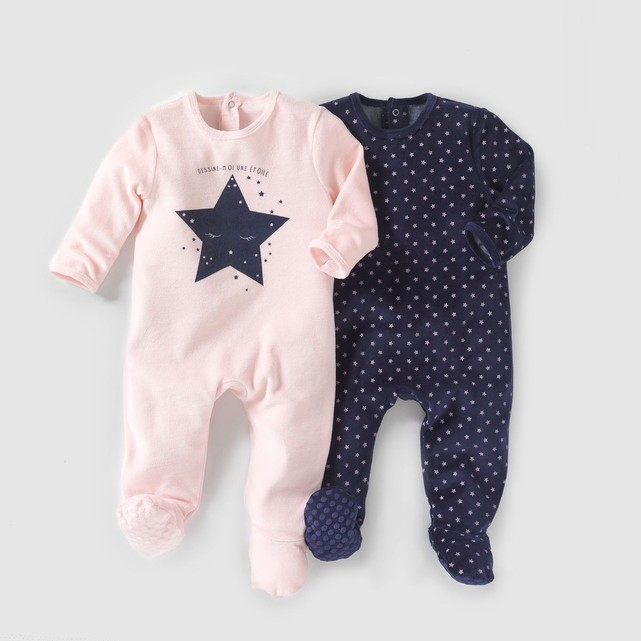 pyjama velours 3 ans