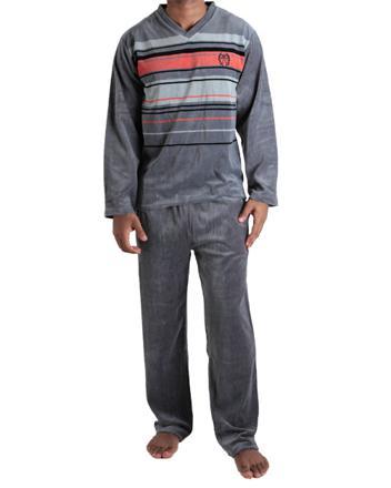 pyjama velours homme pas cher