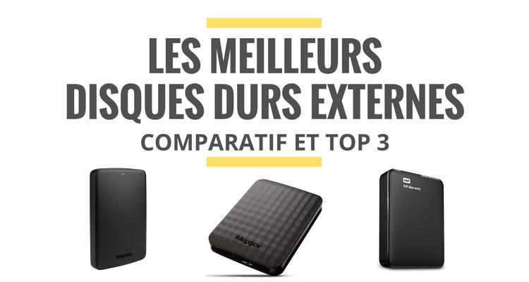 quel est le meilleur disque dur externe