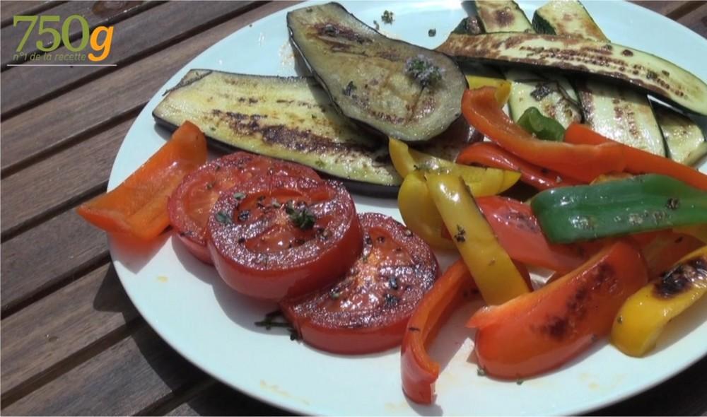quels legumes pour plancha