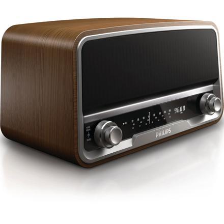 radio reveil style vintage