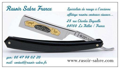 rasoir sabre