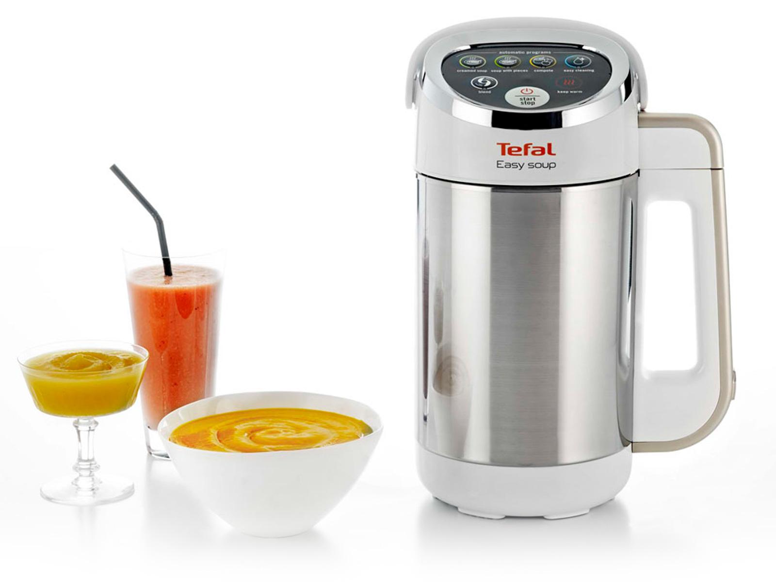 recette soupe blender chauffant moulinex