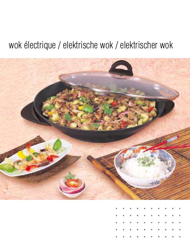 recette wok electrique tefal