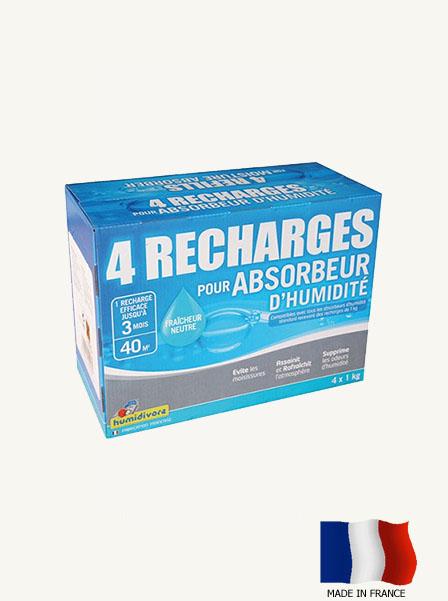 recharge pour absorbeur d humidité