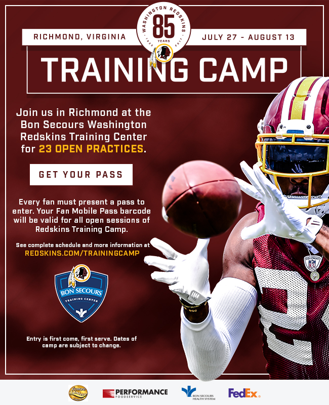 redskins promo
