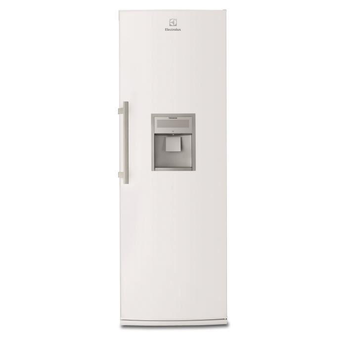 refrigerateur 1 porte blanc